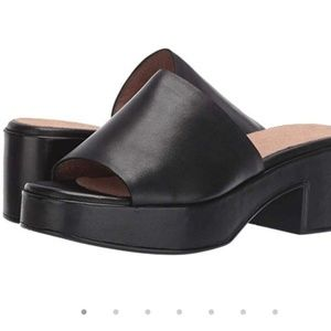 Seychelles heels slides mules leather sandals